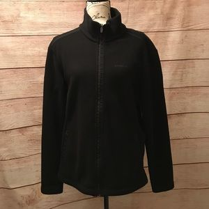 SEE PICS Patagonia Size XL Black Zip Up Fleece